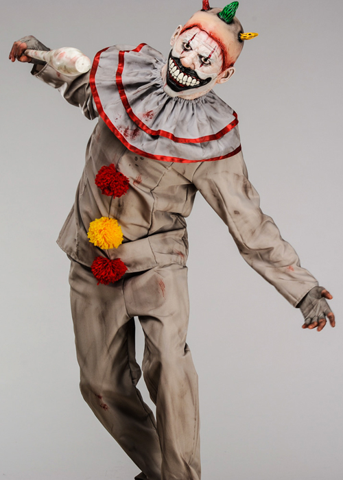 American Horror Story Twisty The Clown Costume With Deluxe