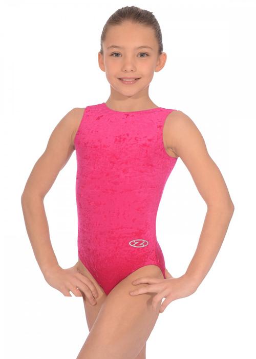 3c11e0cbf Raspberry Pink Salto Sleeveless Gymnastics Leotard Size 22 (2-3 ...