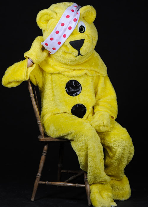 Adult Pudsey Bear Hire Costume