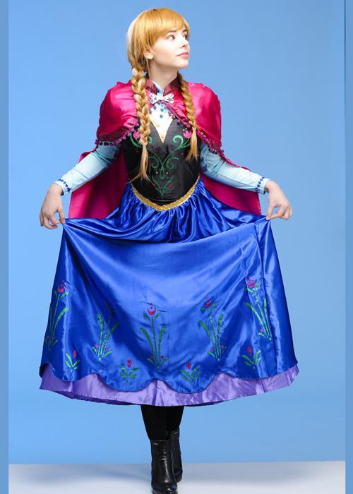 sc 1 st  Struts Fancy Dress & Womens Disney Frozen Anna Costume