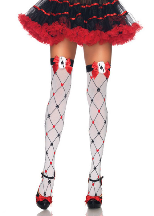 Alice Hold Ups Playing Cards