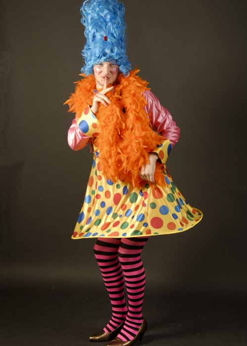 Adult Mens Spotty Pantomime Dame Costume