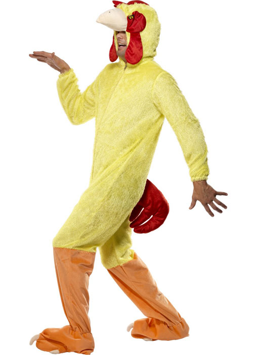 adult size rooster chicken costume  32920