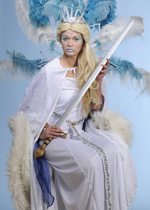 Womens The White Witch Snow Queen Costume