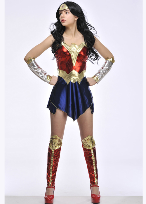 Adult Batman v Superman Wonder Woman Costume