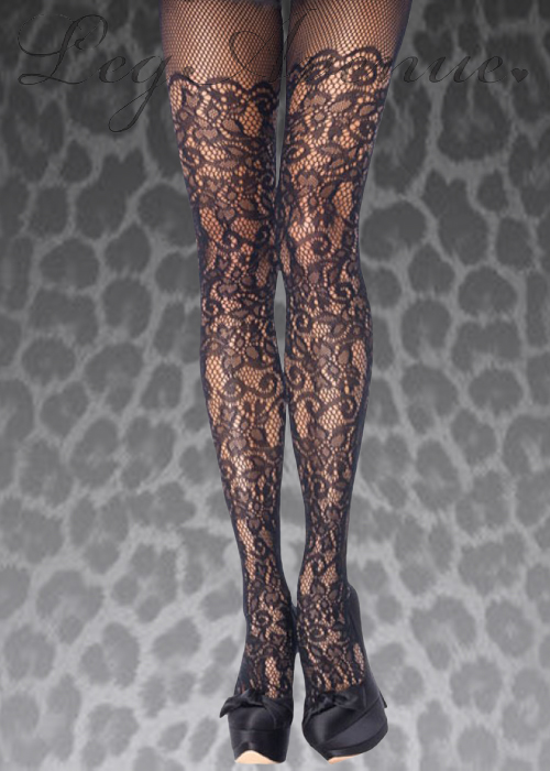 72a4a6253 Adult Ladies Gothic Black Lace Fishnet Tights