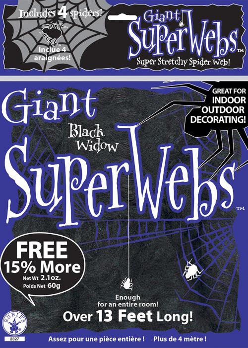 Halloween Black Spider Web Decoration | eBay