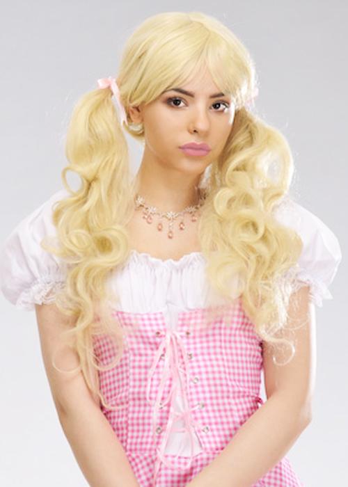 Womens Deluxe Blonde Bo Peep Wig