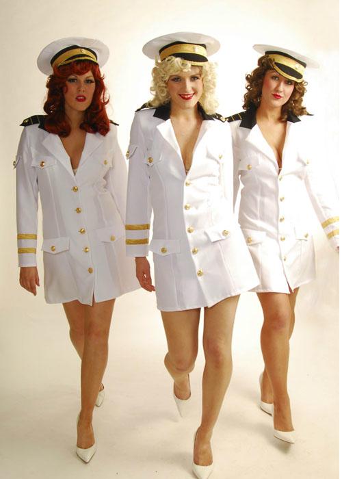 sc 1 st  Struts Fancy Dress & 1940u0027s Pin Up Candyman Sailor Costume