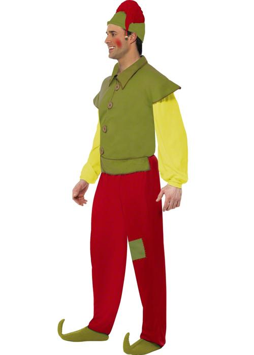 Adult Elf Fancy Dress 3