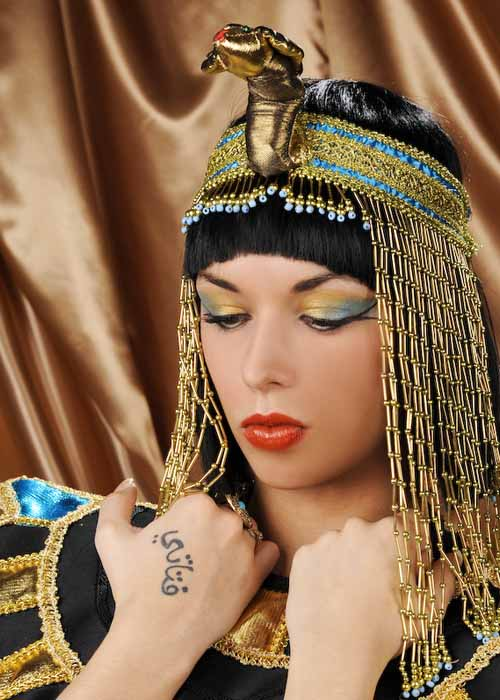 Egyptian cleopatra head piece ba1064 struts party superstore