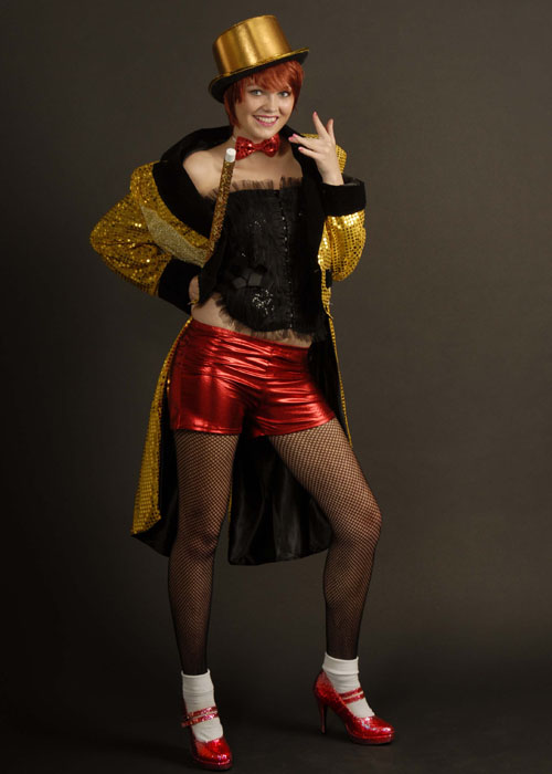 womens columbia rocky horror picture show style costume