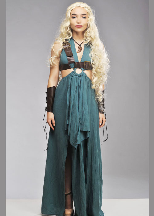 57aa16675c5 Womens Mother Of Dragons Style Costume Mother Of Dragons Daenerys ...