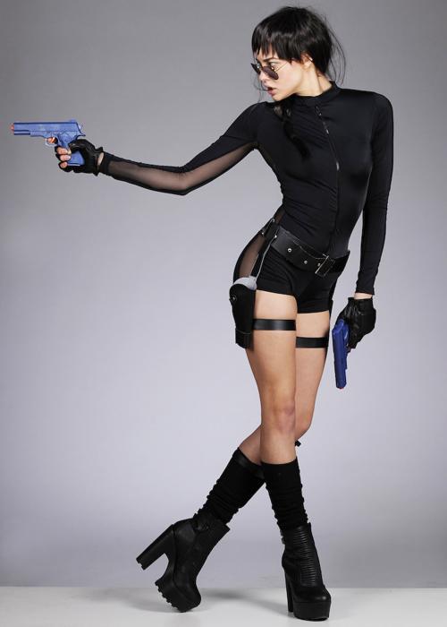 womens lara croft style costume