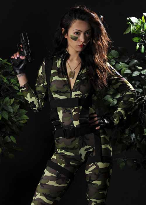 sc 1 st  Struts Fancy Dress & Ladies Sexy Paratrooper Army Costume