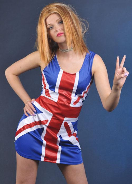 Ginger Spice Fancy Dress Union