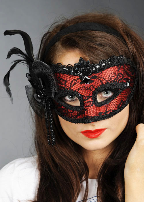 At a Glance: This Venetian Masquerade Mask Cosima is a version of the traditional Colombina mask. This is #3 in out Cosima luxury style masks for women. This mask .