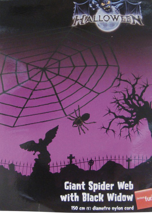 ... Giant Spider Web Decoration Halloween Giant Spider Web Decoration