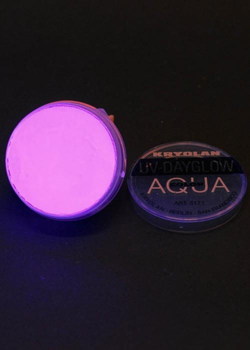 Halloween Uv Neon Purple Face Paint Halloween Uv Neon