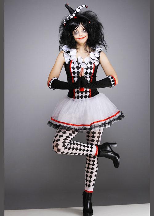 Teen Size Halloween Gothic Harlequin Honey Costume