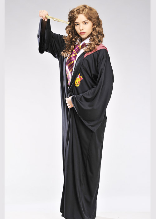 sc 1 st  Struts Fancy Dress & Adult Hermione Granger Style Gryffindor Robe