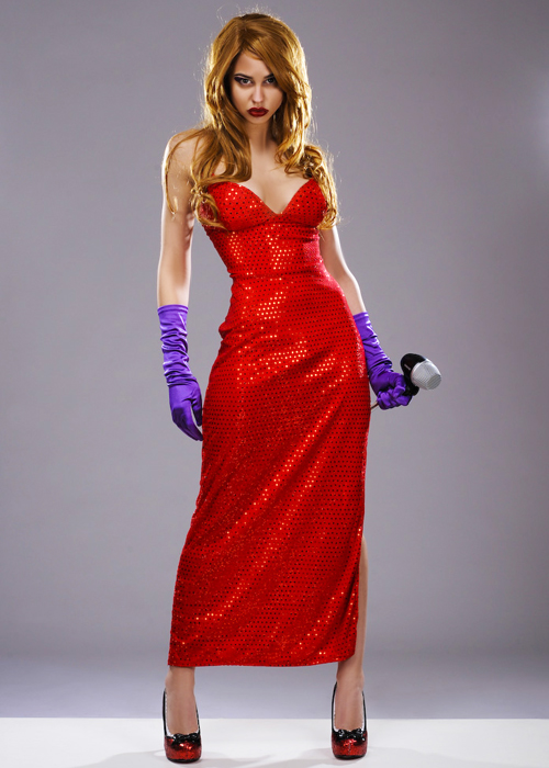 Jessica Rabbit Style Femme Fatale Costume