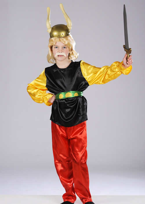 Kids Asterix The Gaul Style Costume [41966/7/8] - Struts ...