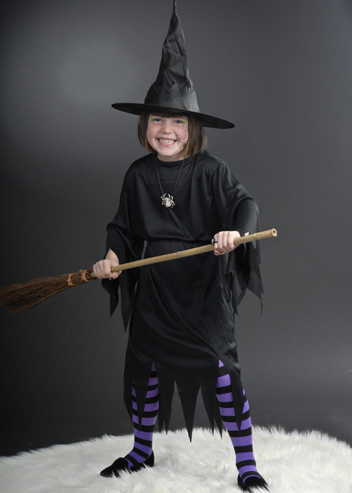sc 1 st  Struts Fancy Dress & Kids Size Halloween Wicked Witch Costume