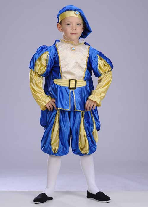 Kids Size Prince Charming Costume