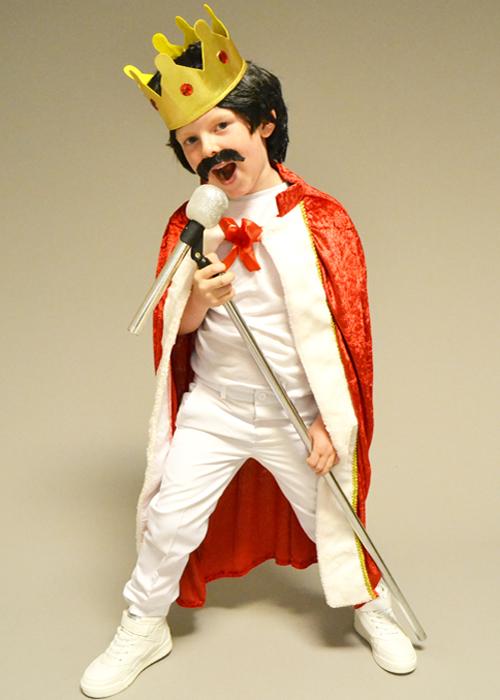 childrens freddie mercury style king costume kit childrens freddie mercury style king
