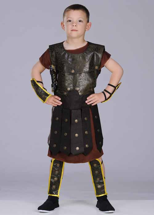 Kids roman gladiator costume cc668 669 670 struts party superstore