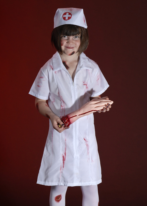 Kids Zombie Nurse Halloween Costume  sc 1 st  Struts Fancy Dress : childrens nurse costume - Germanpascual.Com