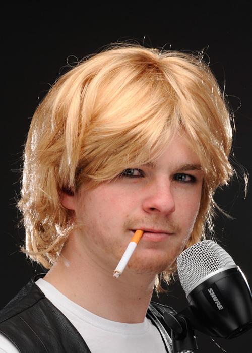 Grunge Kurt Cobain Wig