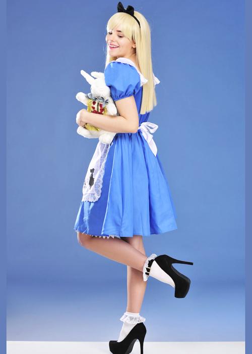 Adult Womens Disney Alice In Wonderland Costume