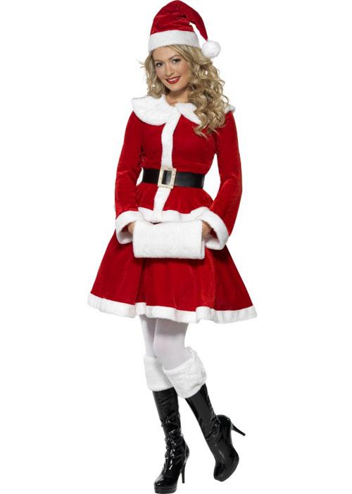 Ladies mrs christmas santa costume ladies mrs christmas santa costume