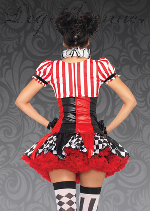 Leg Avenue Harlequin Clown Costume Leg Avenue Harlequin