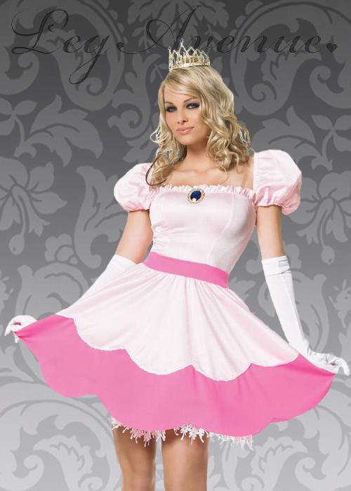 Leg Avenue Pink Princess Peach Costume Leg Avenue Pink Princess