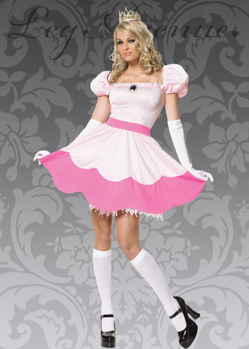 Leg Avenue Pink Princess Peach Costume  sc 1 st  Struts Fancy Dress & Leg Avenue Pink Princess Peach Costume Leg Avenue Pink Princess ...