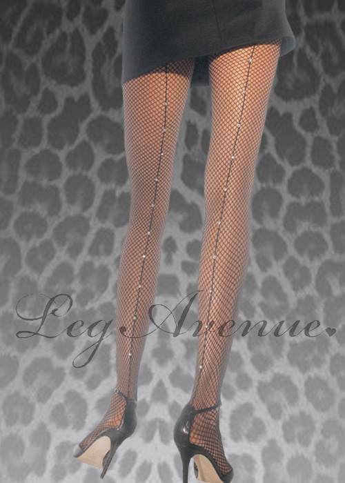 fe7ed194dffb4 Leg Avenue Rhinestone Fishnet Tights Leg Avenue Rhinestone Fishnet Tights
