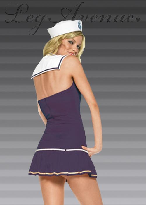 Leg Avenue Shipmate Cutie Sailor Costume  sc 1 st  Struts Fancy Dress & Leg Avenue Shipmate Cutie Sailor Costume Leg Avenue Shipmate Cutie ...