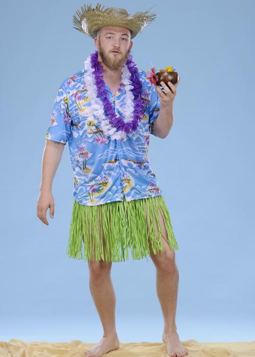Blue hawaiian shirt blue hawaiian shirt for Hawaiian shirt fancy dress