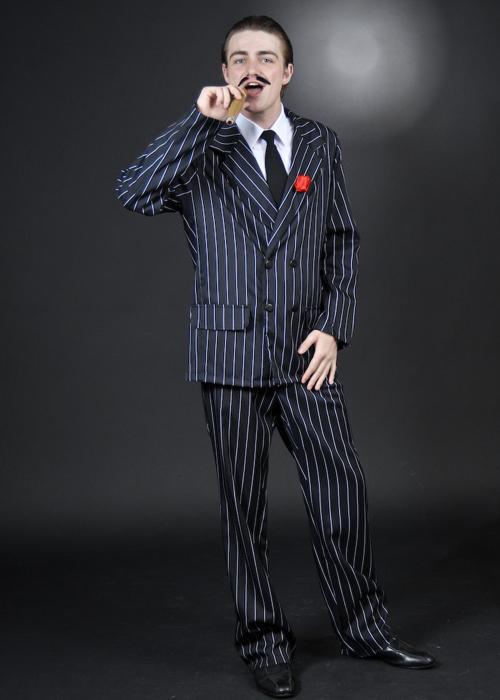 Mens Halloween Gomez Addams Style Costume  sc 1 st  Struts Fancy Dress & Mens Halloween Gomez Addams Style Costume Adult Gomez Addams ...
