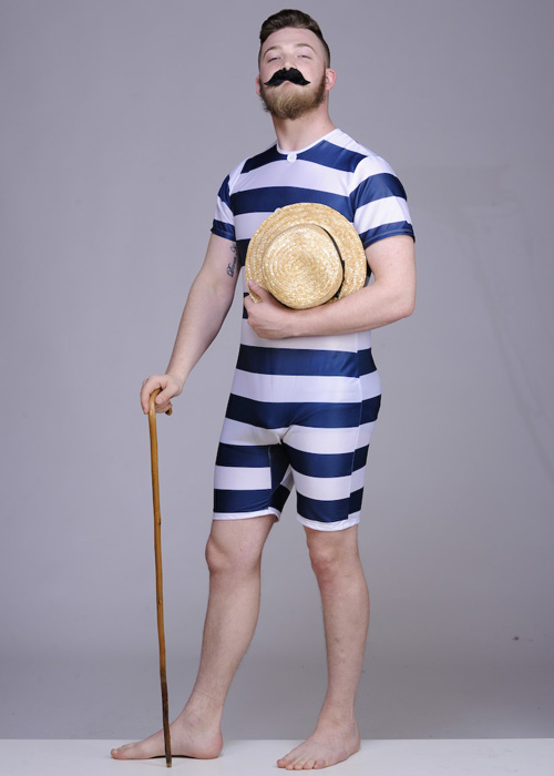 Adult Mens 1920s Bather Suit Costume