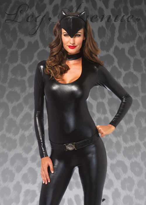 Leg Avenue Sexy Black Cat Costume  sc 1 st  Struts Fancy Dress : catwoman costume leg avenue  - Germanpascual.Com