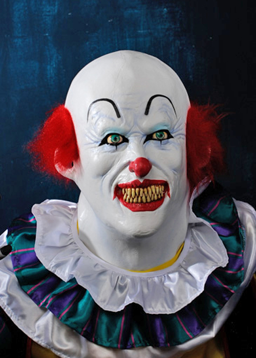 Deluxe Pennywise It The Clown Mask Deluxe Pennywise It The