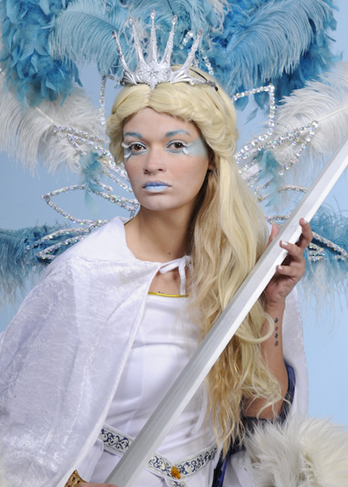 The White Witch Plastic Snow Queen Tiara