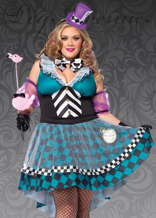 Womens Plus Size Mad Hatter Costume 85227x Mh Struts Party