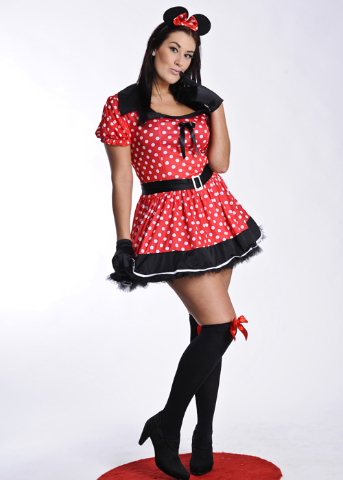 Uk costume adults Minnie mouse