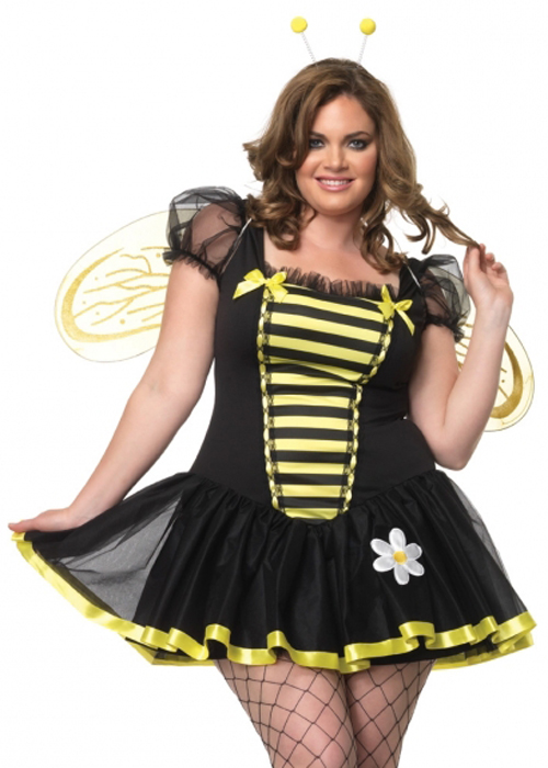 Plus Size Womens Sexy Bumble Bee Costume Plus Size Womens Sexy