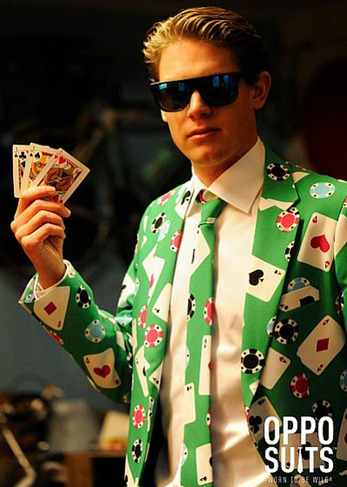 Poker Outfit